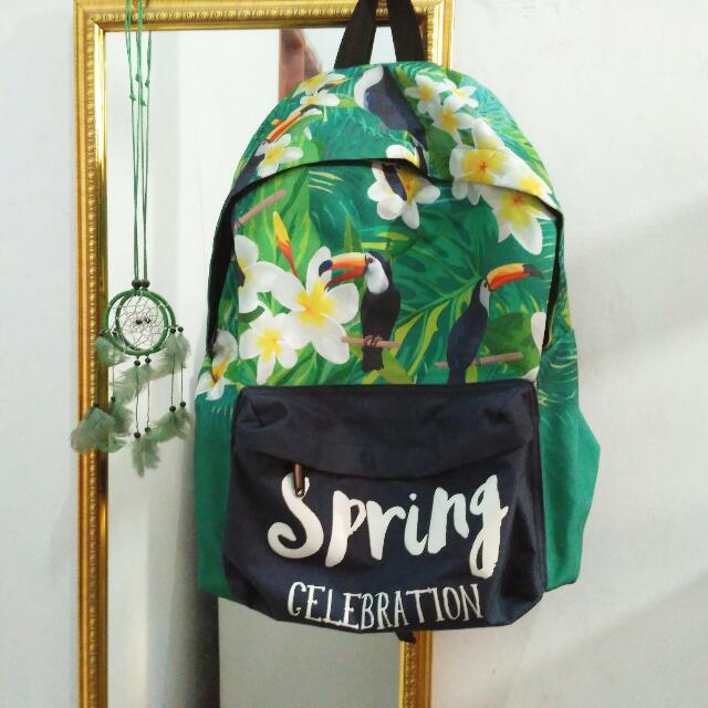 Backpack Import Aestethic