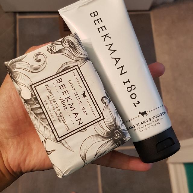 bar soap & hand lotion