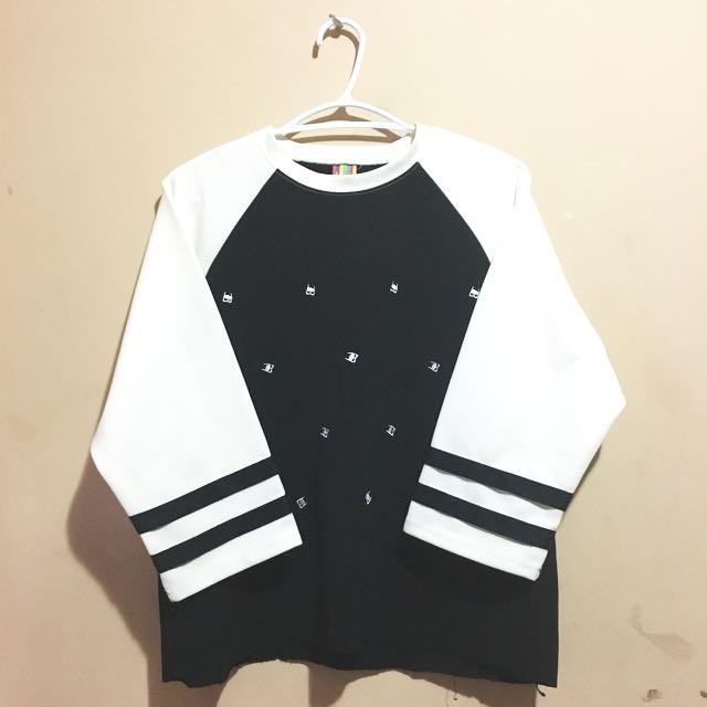 Black and White-Striped