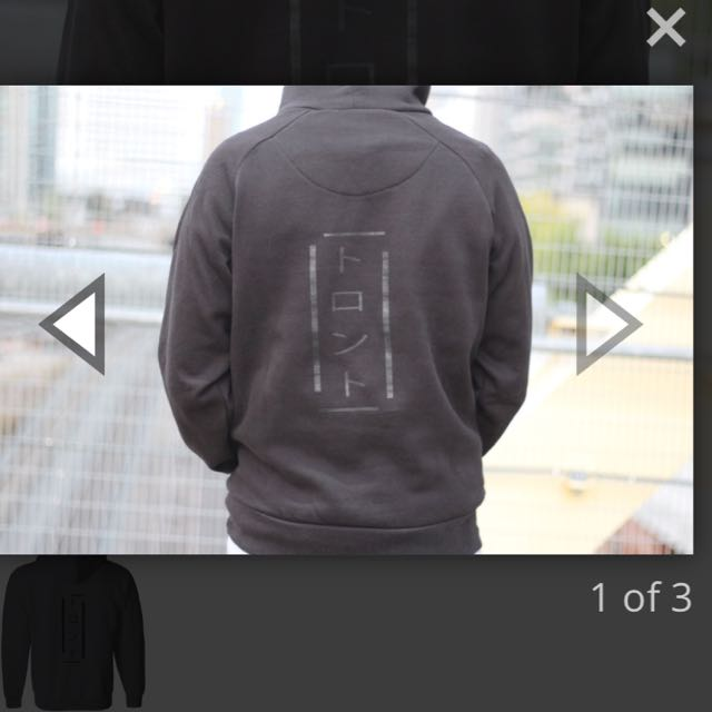 Black out pullover hoodie
