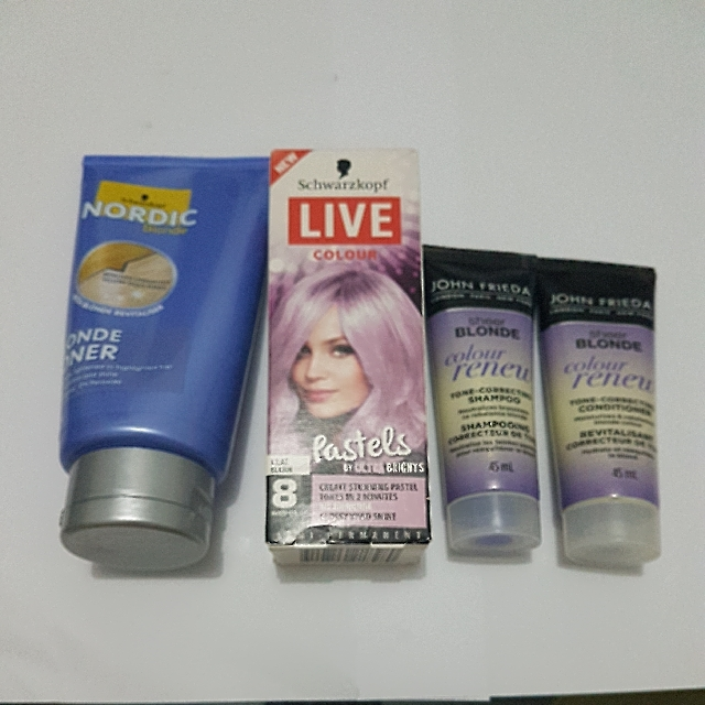 blonde toner, hair care and colour