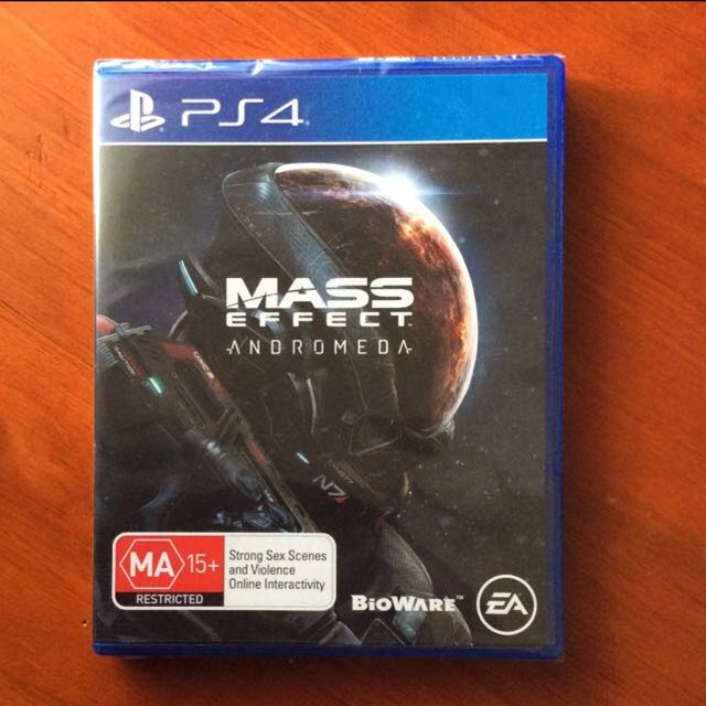 ⬇️BN PS4 Mass Effect Andromeda