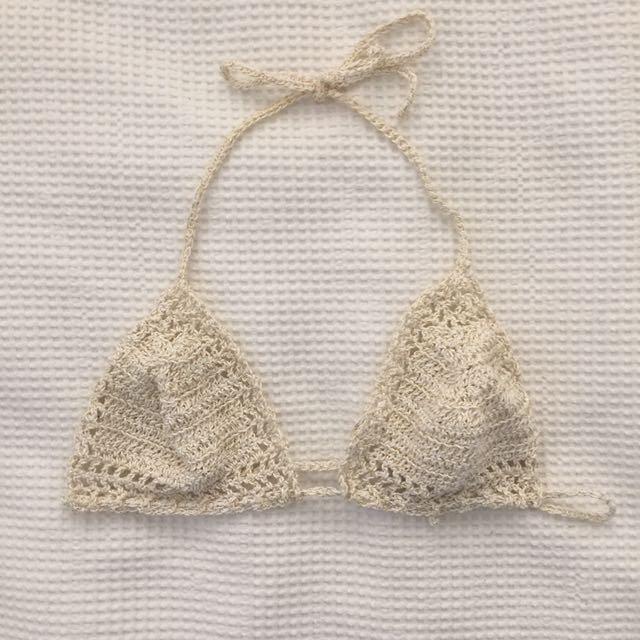 Brand New Crochet Bikini Top