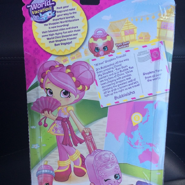 Shopkins World Vacation Asia Shoppies Doll