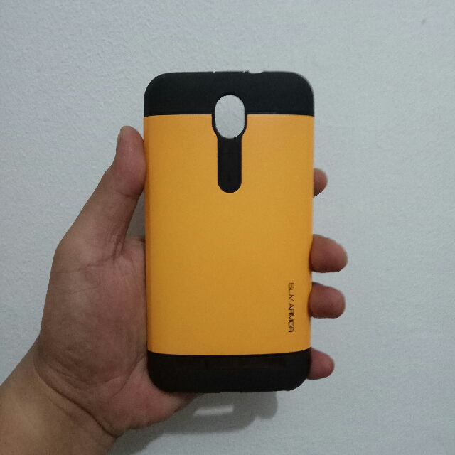 "Case Asus Zonfone 2 4/32 5,5"", Slim Armor (yellow)"