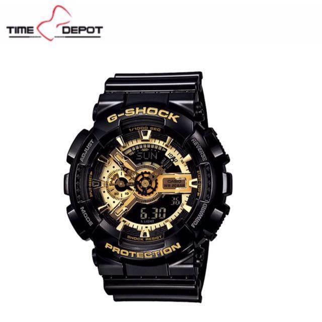 Casio Black And Gold G-shock