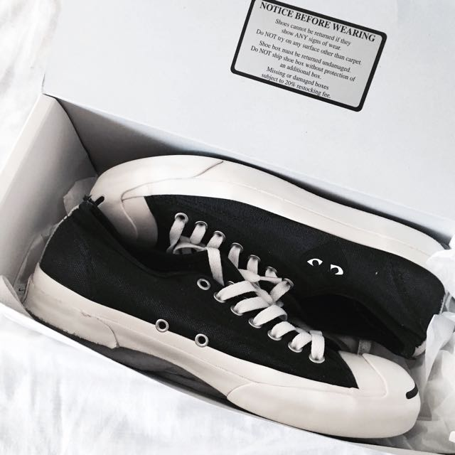 CDG PLAY converse Jack Purcell Sneaker