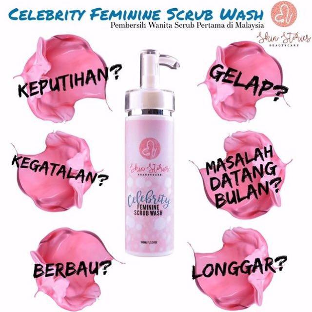 Celebrity Feminine Scrub Wash