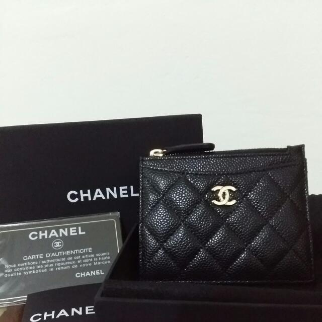 554f1bcdf038 Chanel Card Holder Coin Purse Women S Fashion Bags Wallets On