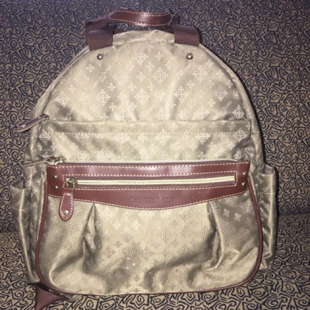 Christian Oliver Backpack with Handle