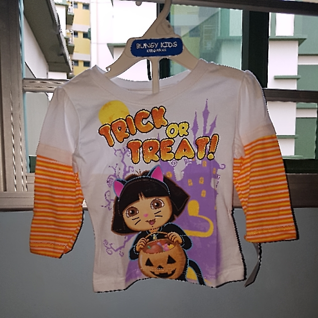 CLEARANCE - Brand new HALLOWEEN Dora Long Sleeve Top