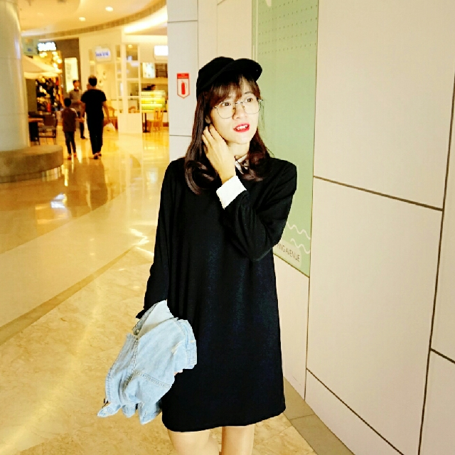 Colar Monochrome Dress