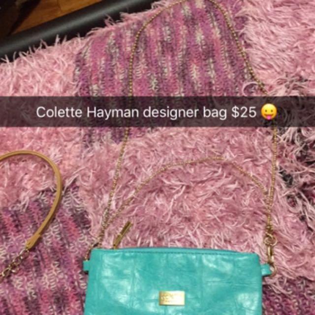 Colette Hayman designer bag