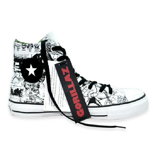 outlet store ee334 8e10b Converse Gorillaz Collection, Men s Fashion, Footwear on Carousell