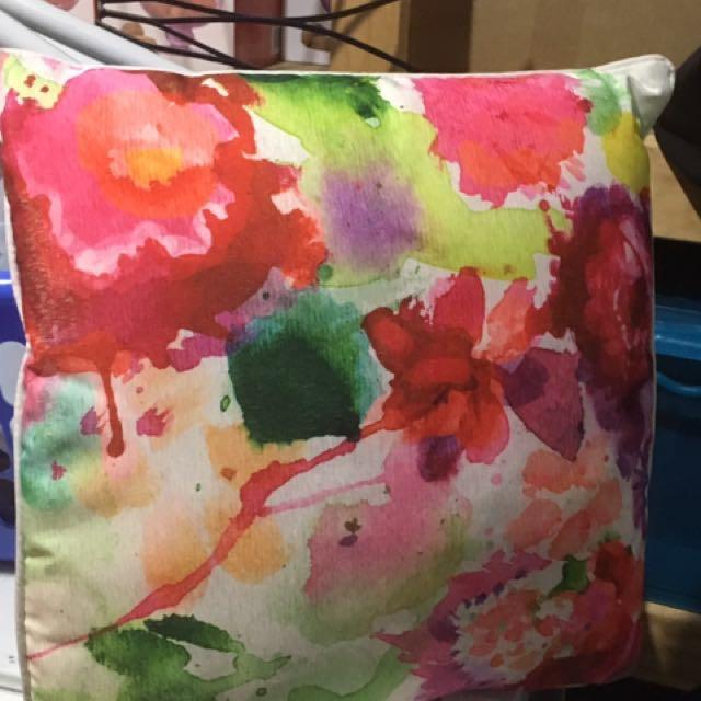 Cushion multicoloured