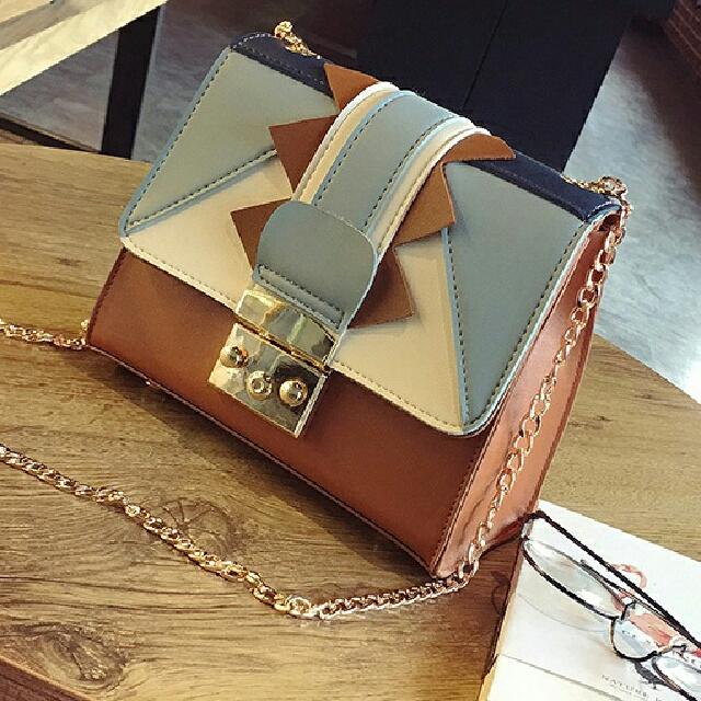 D1671 Twisted || Tas Import || Tas Fashion || Tas Batam || destyannis || Dazzling Tabby