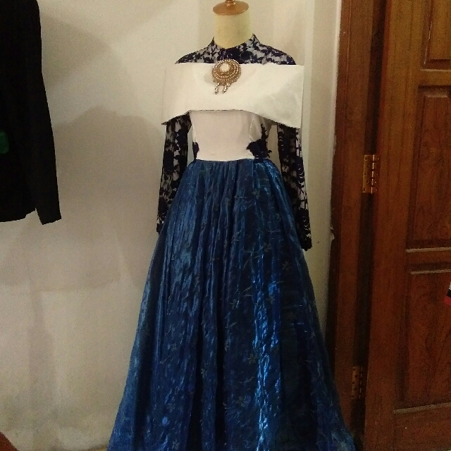 Dress muslimah Elegan