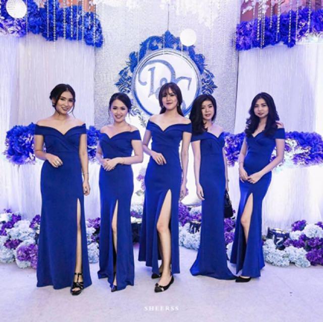 Dress sabrina blue