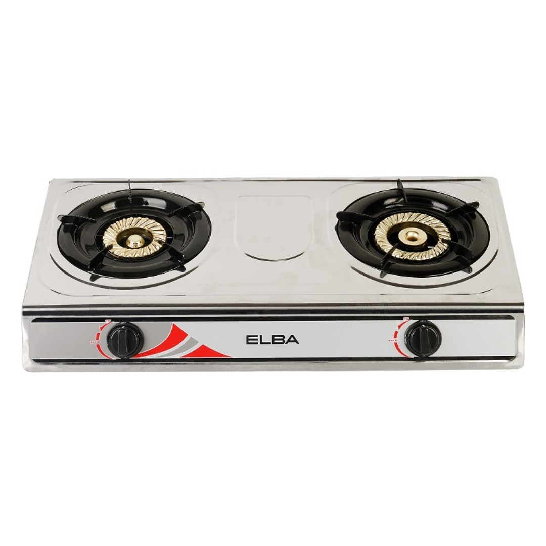 Elba 5260ss Stainless Steel Gas Cooker Stove 2 Burner Kitchen Liances On Carou