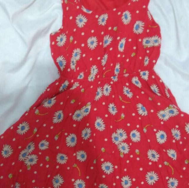 F21 minidress flower size S