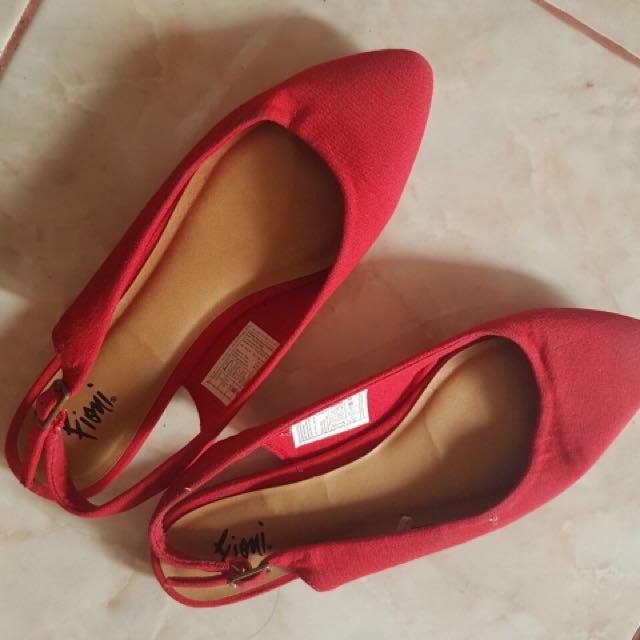 Flatshoes Merah Fiomi ORI
