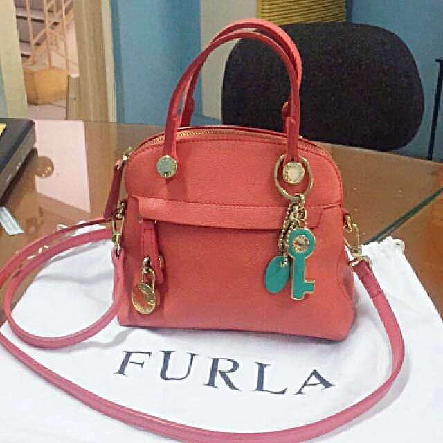 Furla Piper Mini Sling Bag with accessories