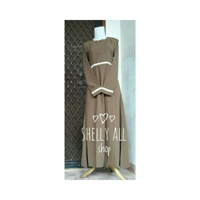 Gamis Wolfis Mocca