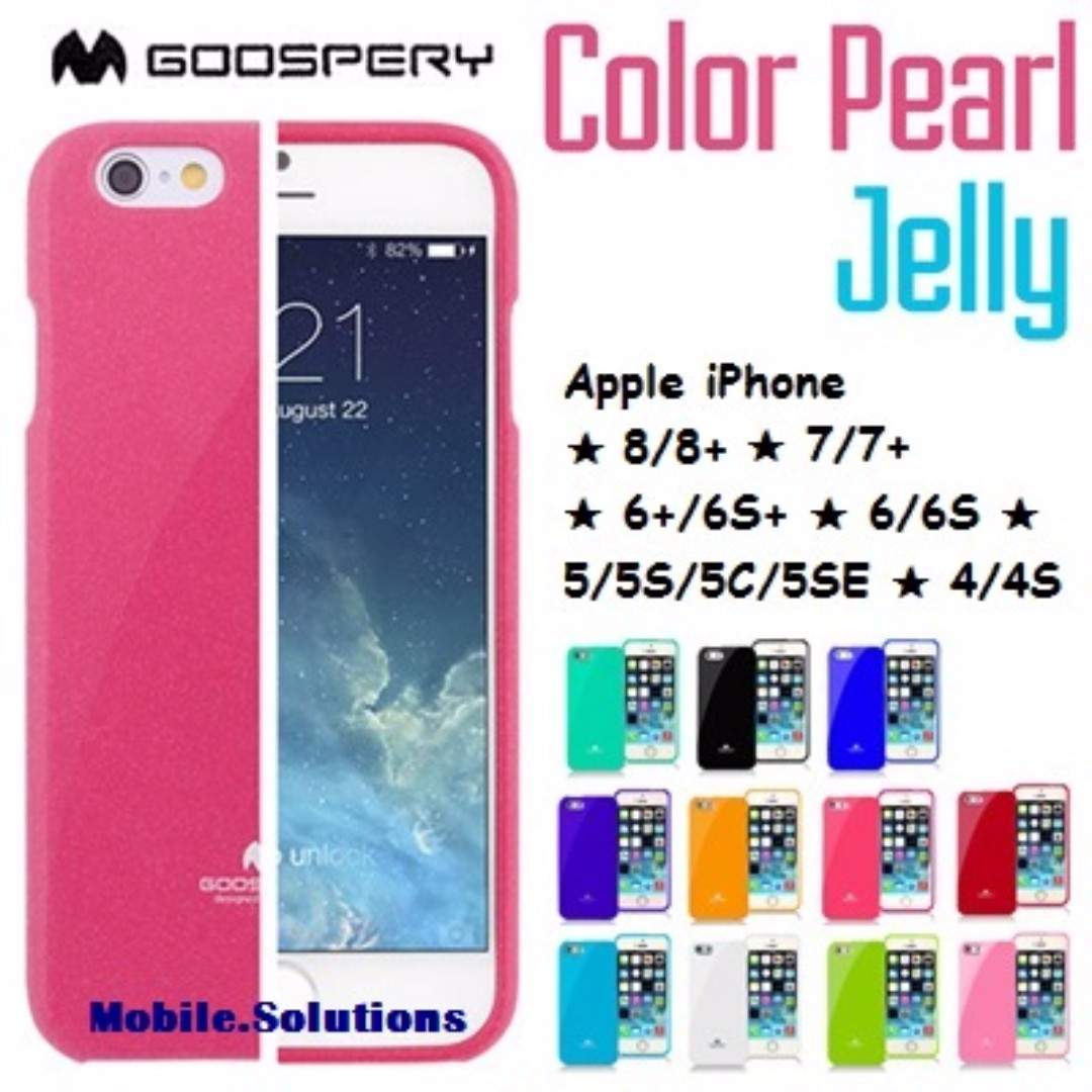 High Quality Iphone Cases For The 6 55s And 5c Goospery 6s Pearl Jelly Case Pink Photo