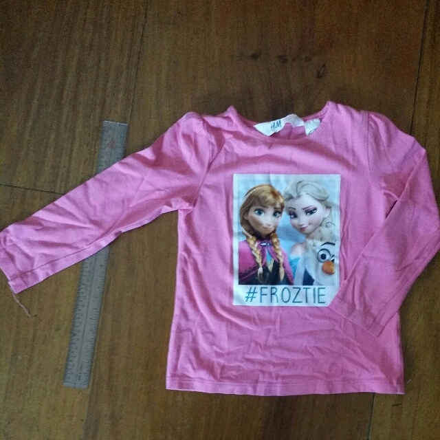 H &M Frozen Ana & Elsa Long Sleeves