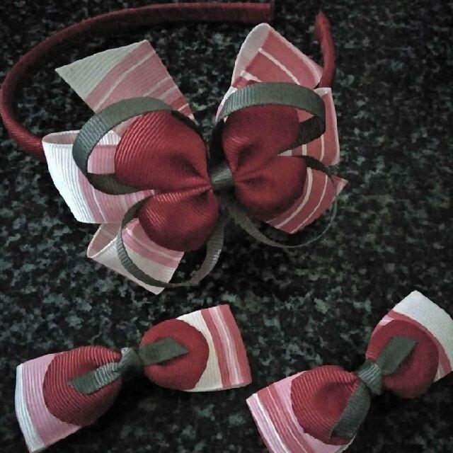 Hair Clip And Headband