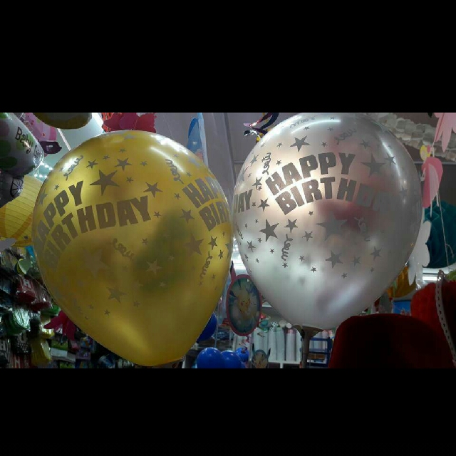 Happy Birthday Printed Balloon
