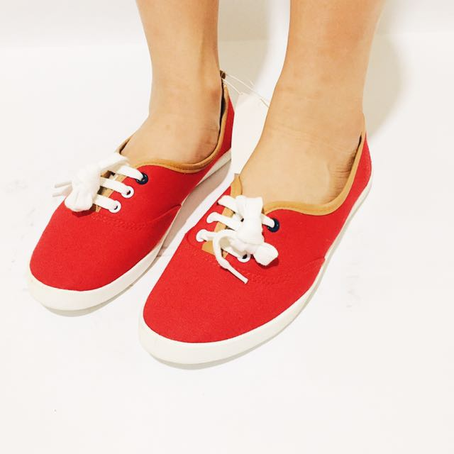 H&M Red Flat Shoes