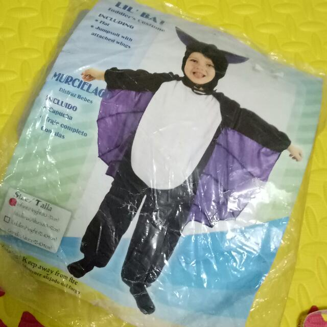 Holloween costume Bat toddler