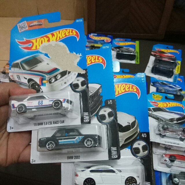 Hotwheels BMW Series
