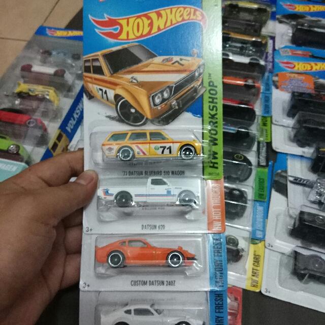 Hotwheels Datsun