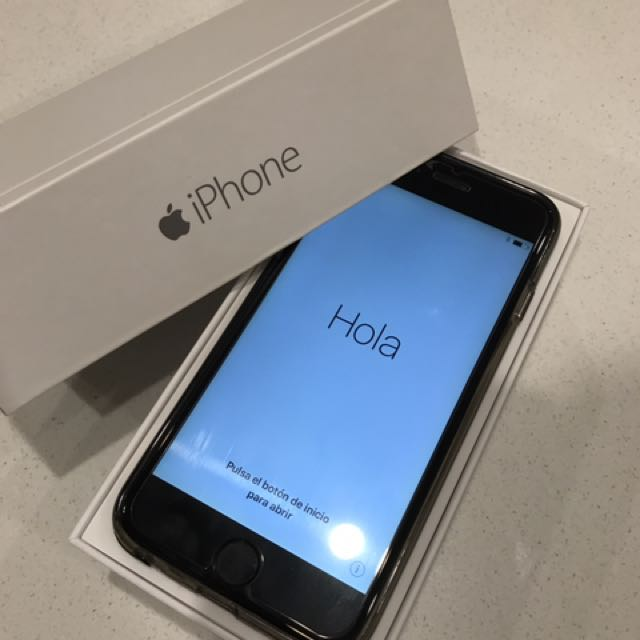 iPhone 6 128gb in PERFECT CONDITION
