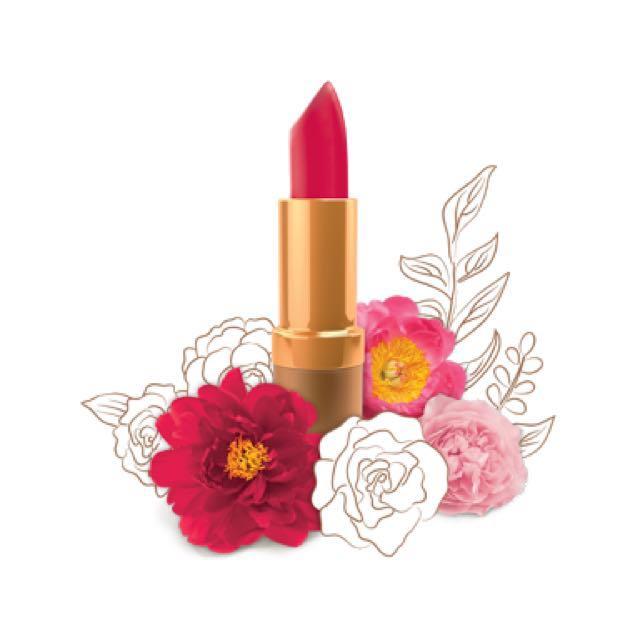 Karen Murrell red lipstick - 20