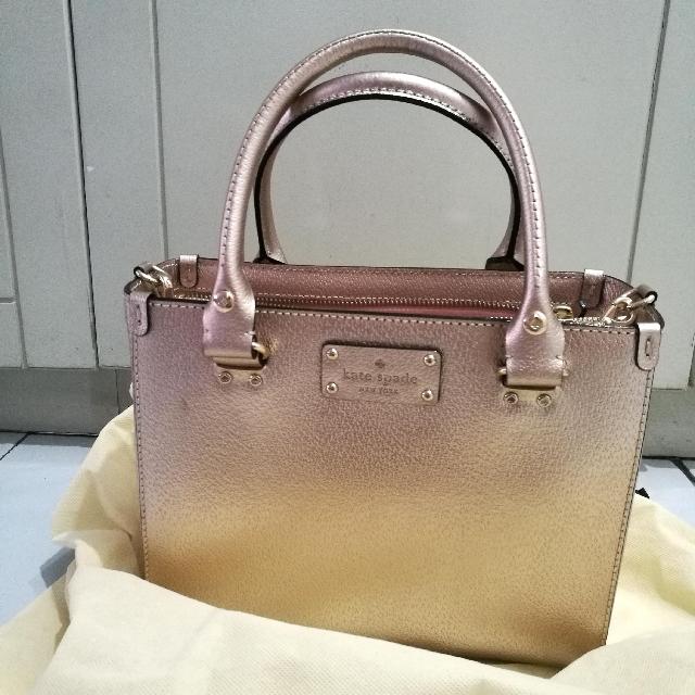 Kate Spade Rosegold Bag