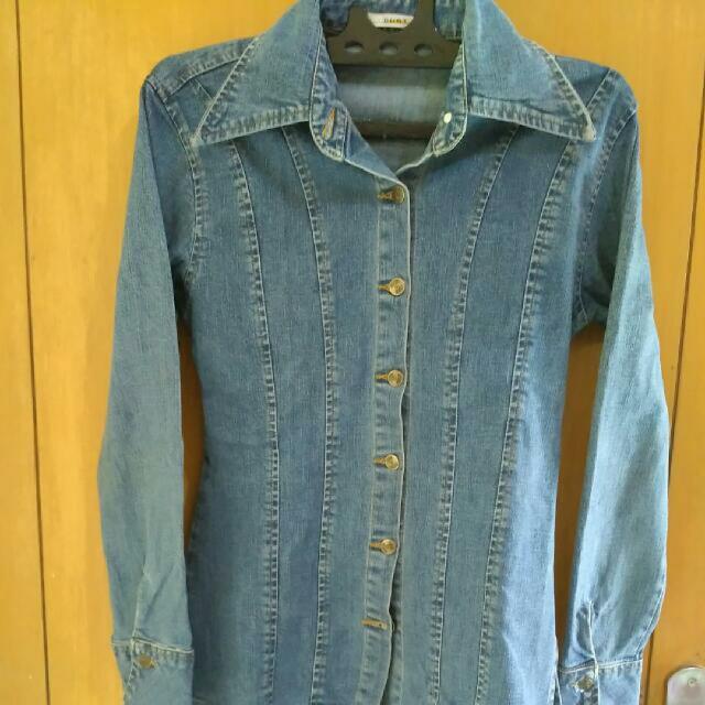 Kemeja/jaket Jeans Dust