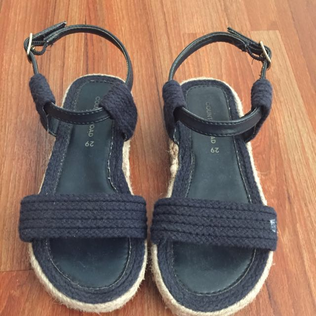 Kids Country Road Size 29 Girls Espadrille Sandals