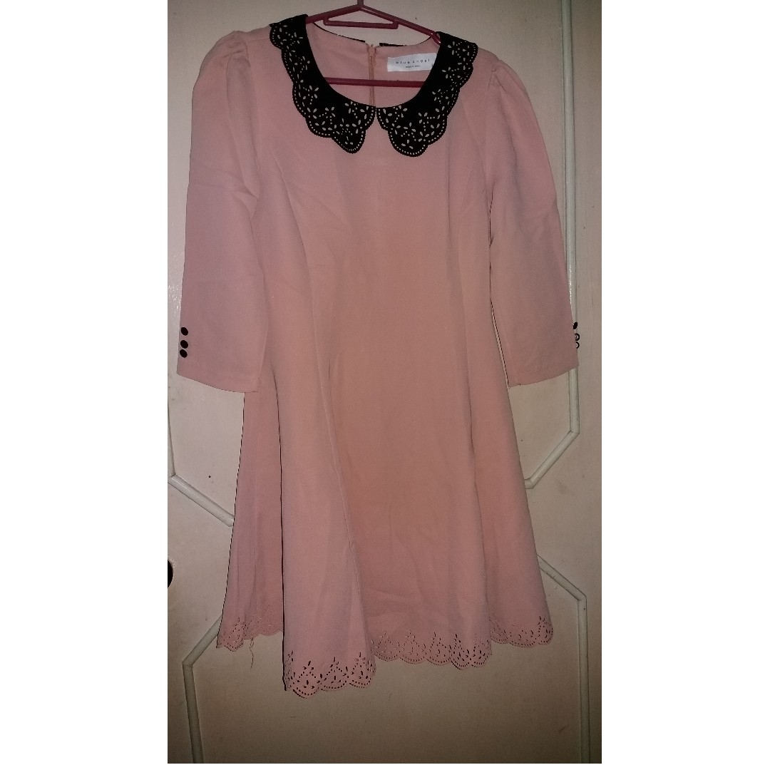 Korean dress (peach)