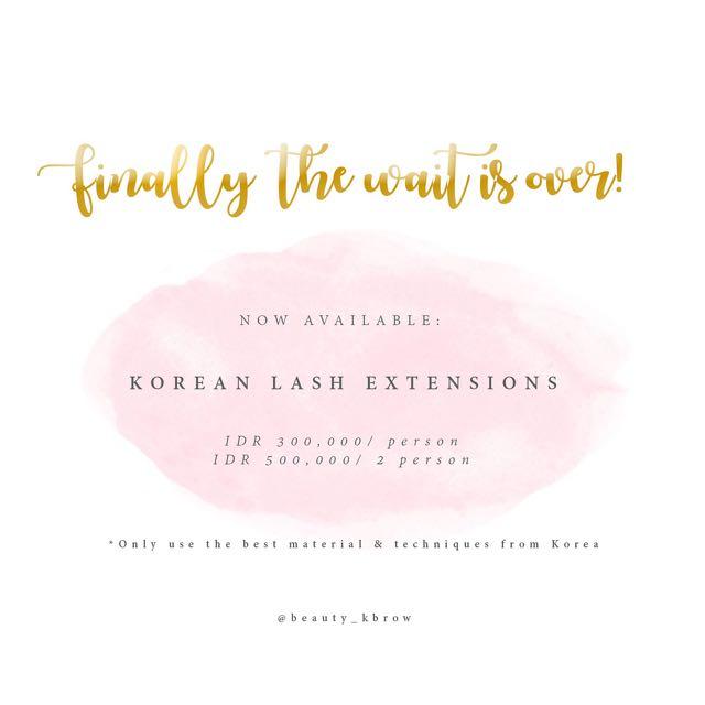 Korean Lash Extensions