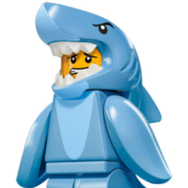 Lego Minifigure Shark Suit Guy