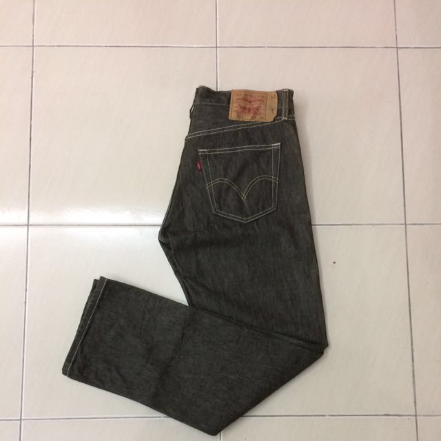 Levi's 501 Raw, Made In Mexico