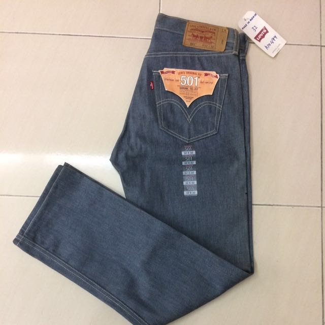 Levis 501 Raw, Made In Mexico