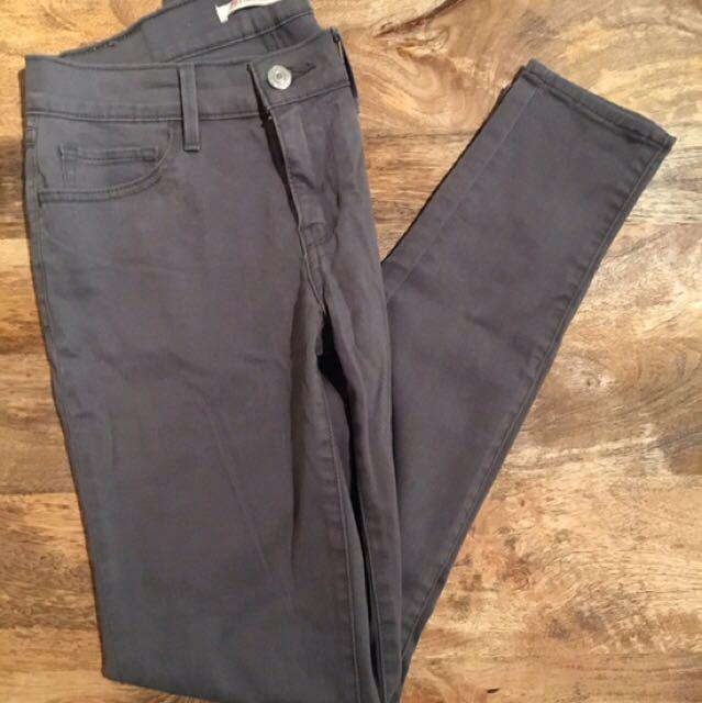 Levi's Grey Skinny - Size 27