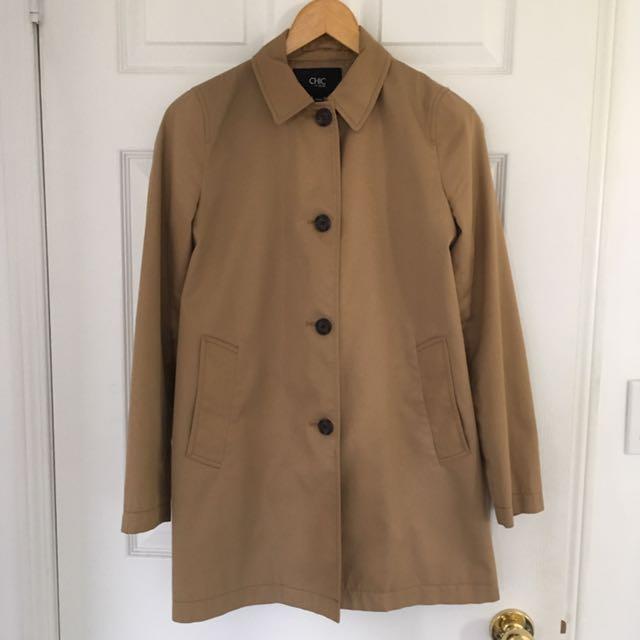 Light camel jacket XS