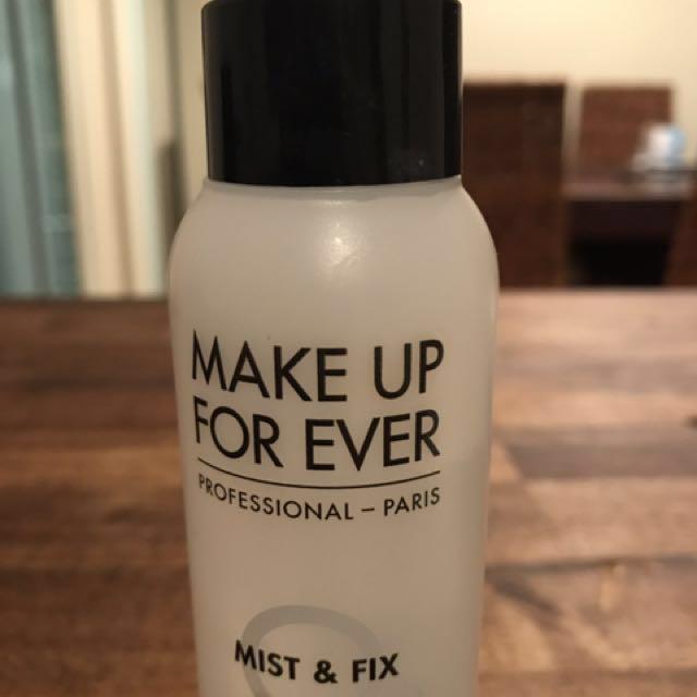 Make up forever mufe makeup mist & fix