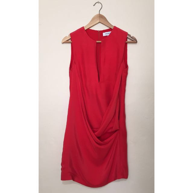 Maurie & Eve - Red Silk Dress