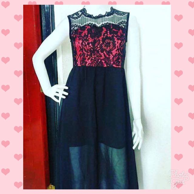 Maxi korean dress